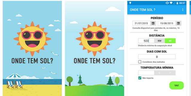 Leitor-cria-aplicativo-para-informar-onde-tem-sol-app-